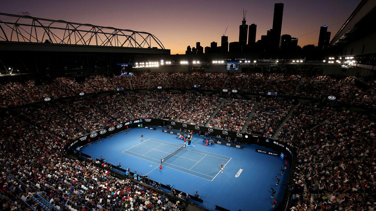 El Open de Australia se jugará sin público hasta el próximo jueves.