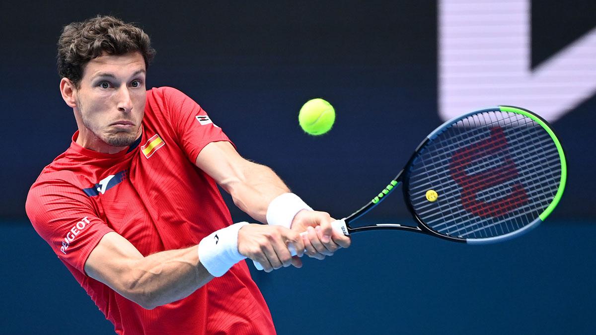 Pablo Carreño, durante el partido de España en la ATP Cup (ATP Cup)