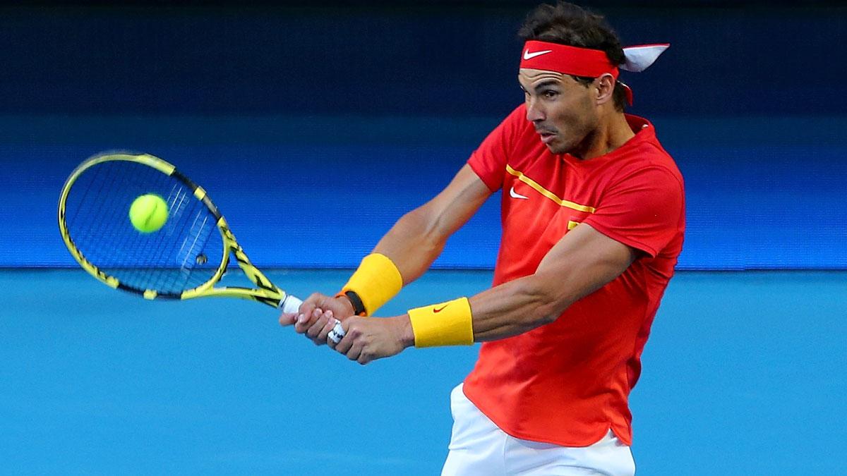 Nadal – Tsitsipas: hora y dónde ver en directo el partido de la ATP Cup