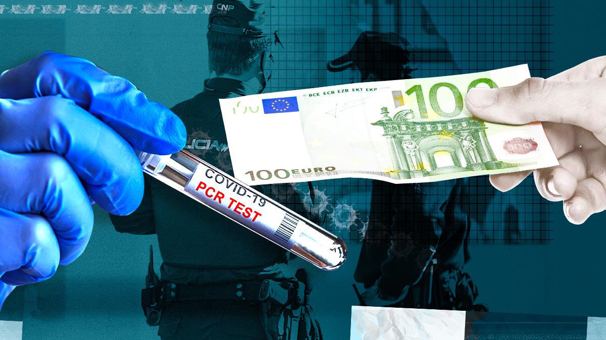 Policías llegados de servicios en Canarias se pagan sus propias pruebas PCR porque Interior sigue usando los test de antígenos.