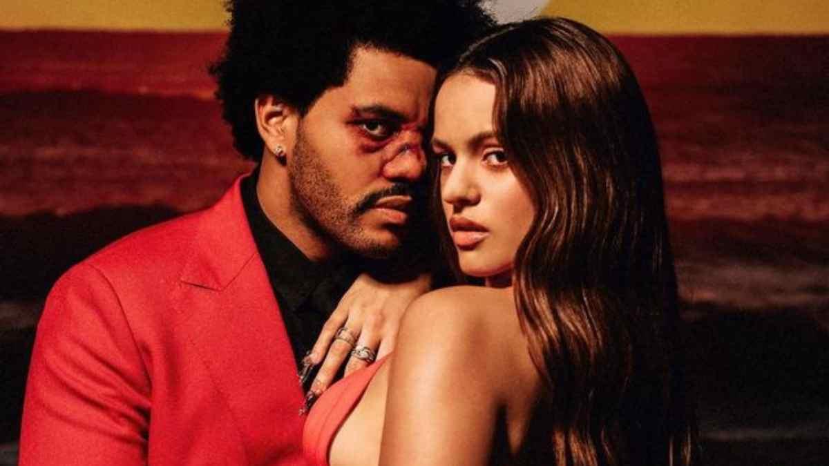 The Weeknd y Rosalía. (Rosalia.vt Verificado)