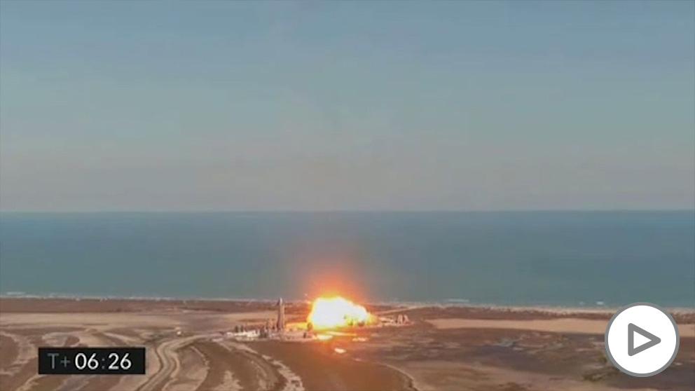 Space X vuelve a estrellar un cohete