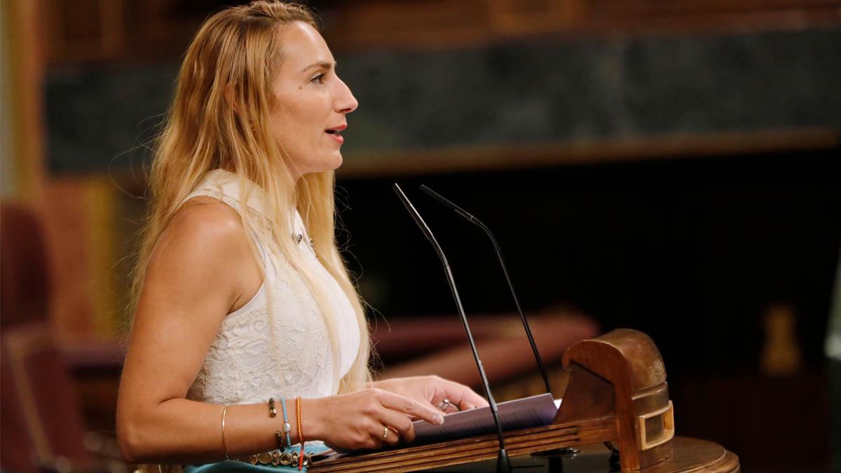 Patricia de las Heras, diputada de Vox (Foto: EP)