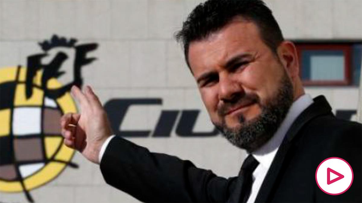 Miguel Galán,candidato de la federación madrileña, denunciado por impagos.