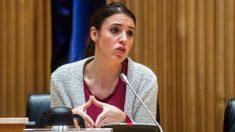 Irene Montero en el Congreso. (Foto. Podemos)