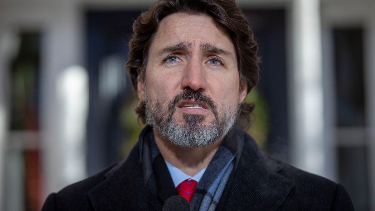 Justin Trudeau, primer ministro de Canadá. Foto: AFP