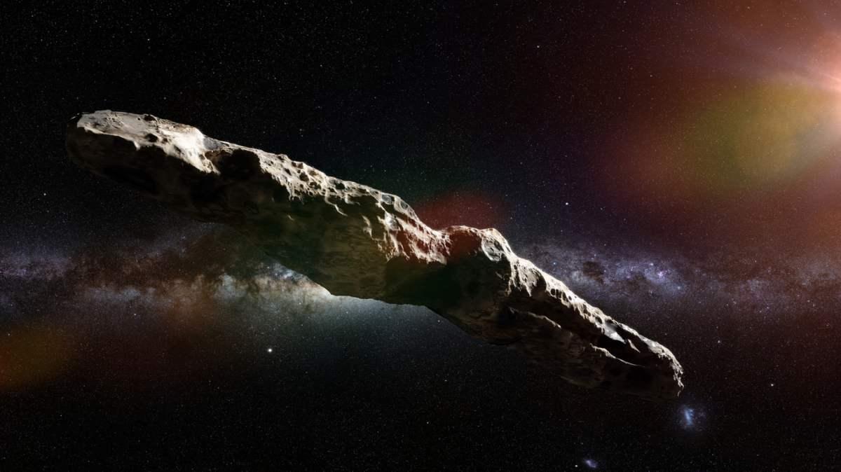 Oumuamua. una nave extraterrestre