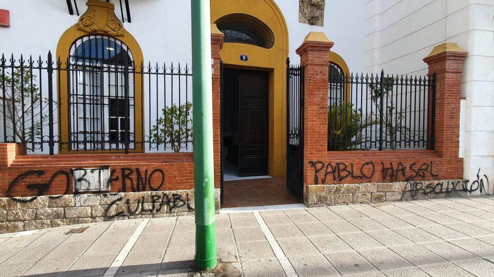 Sede del PSOE en Sevilla.