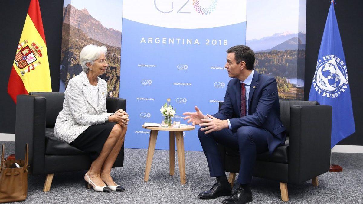 El BCE avisa: la España de Sánchez es la que menos dinero ha movilizado de la Eurozona ante la crisis