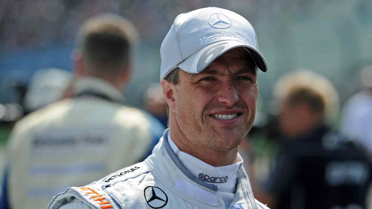 Ralf Schumacher durante su etapa en Mercedes. (AFP)
