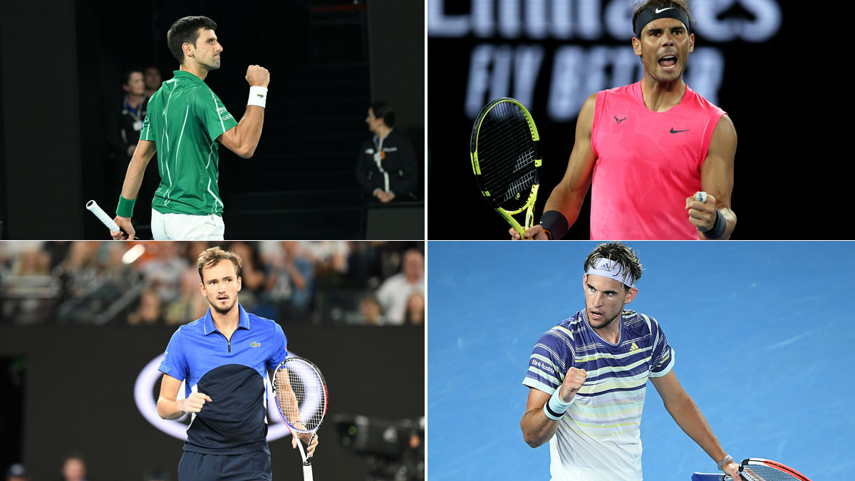 Los favoritos para conquistar el Open de Australia (Getty)