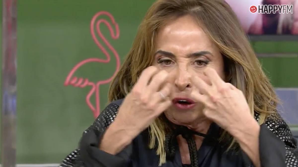 María Patiño en 'Sálvame'