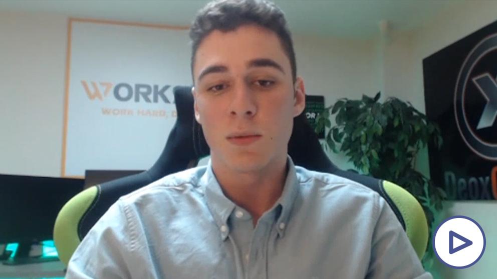 Sergio Conejo, joven emprendedor.