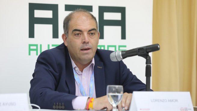 El presidente de ATA, Lorenzo Amor