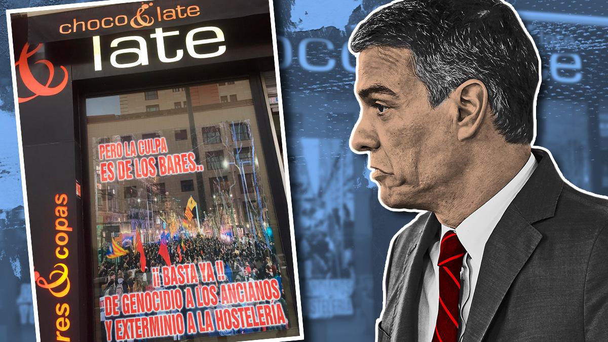Un hostelero da una lección a Sánchez: denuncia el apoyo a los golpistas mientras cierra la hostelería