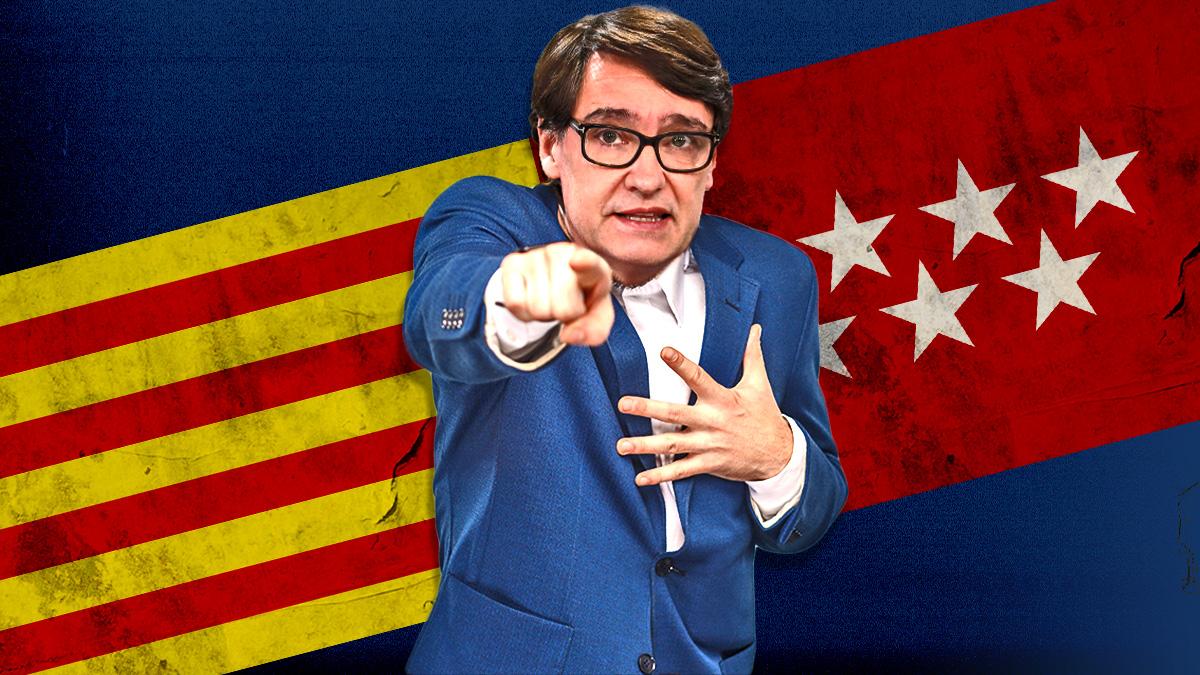 Salvador Illa, candidato del PSC a la Generalitat.