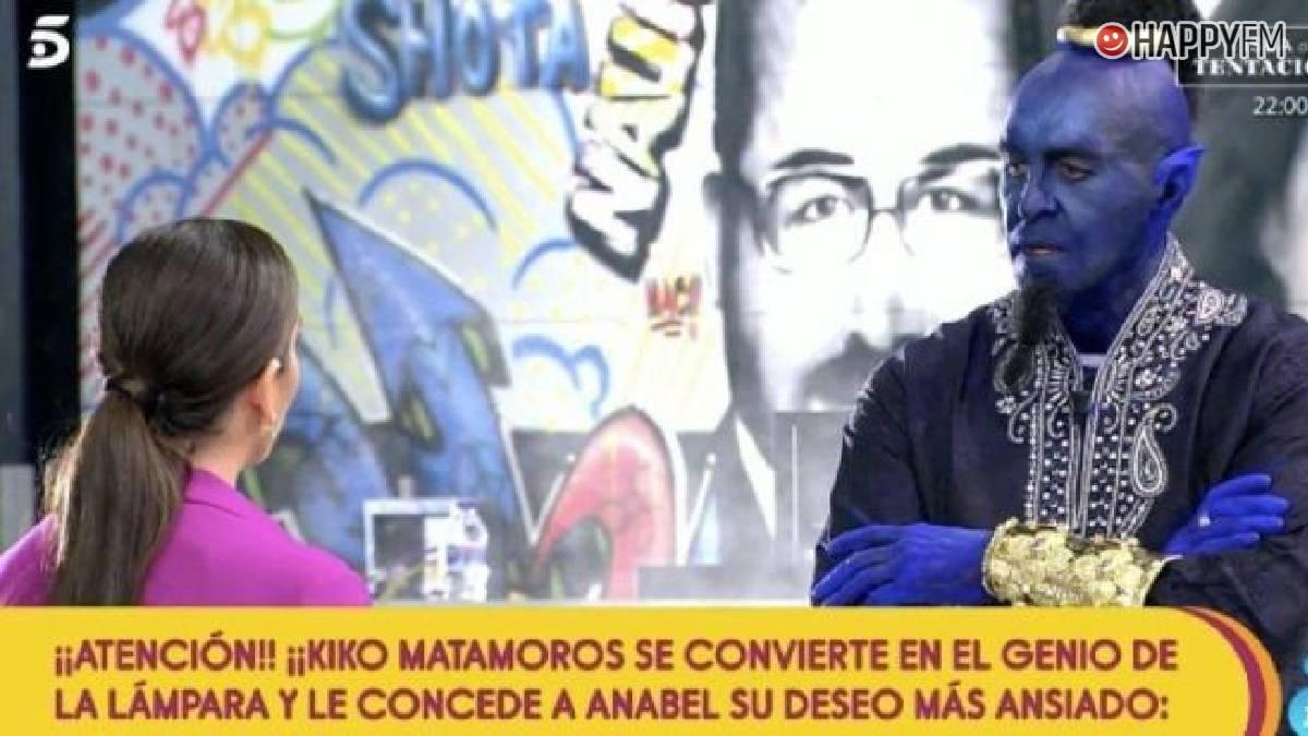 Kiko Matamoros se viste de Genio