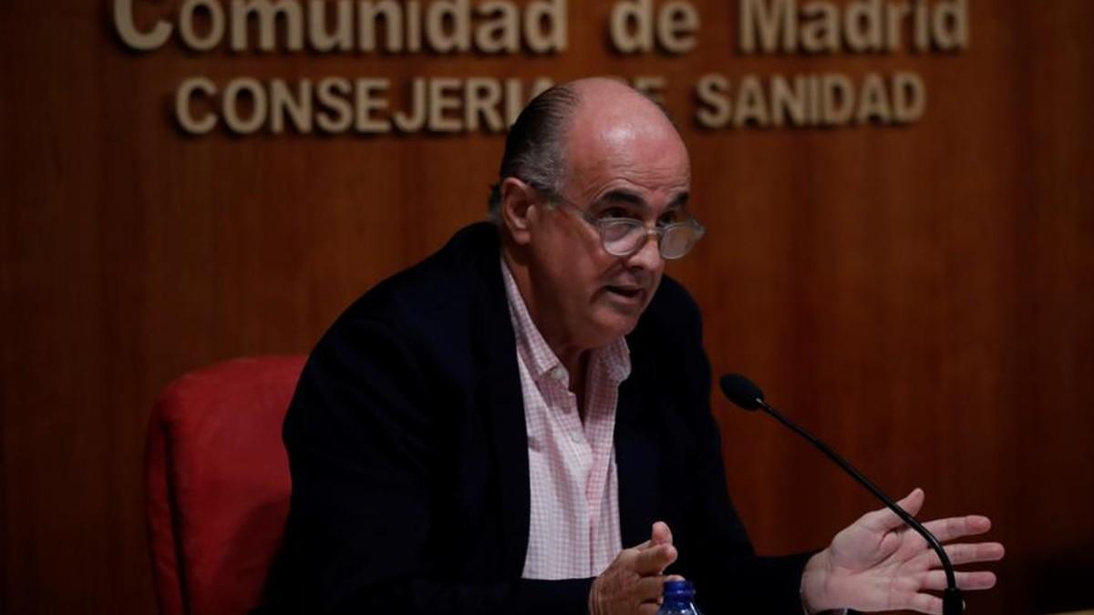 El viceconsejero de Salud Pública y Plan COVID-19.