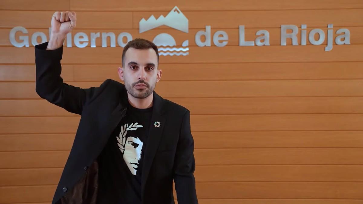 Mario Herrera, ex alto cargo en el Gobierno de La Rioja.