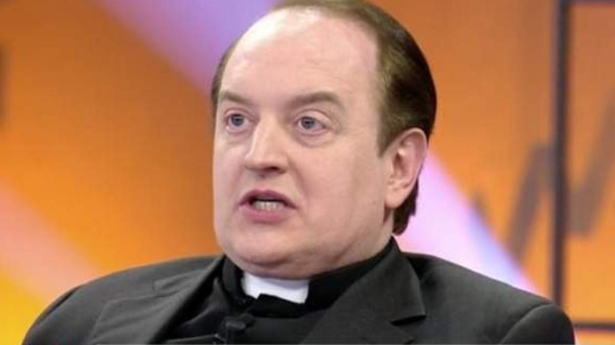 El Padre Apeles en una de sus últimas apariciones en televisión.