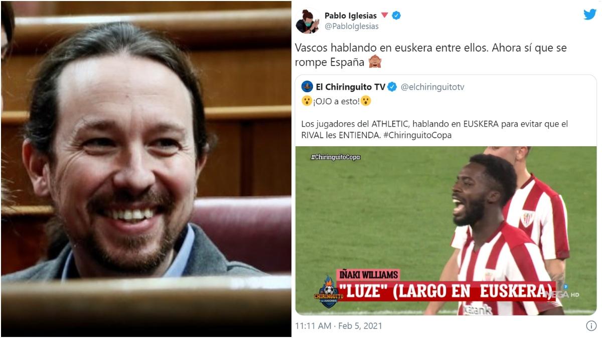 Pablo Iglesias y su respuesta a 'El Chiringuito'