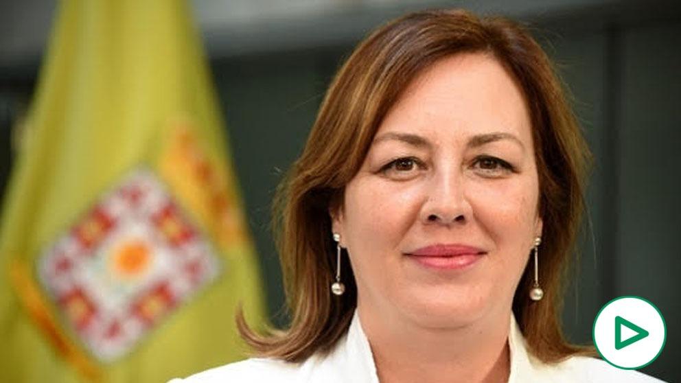 Cristina Jiménez, diputada provincial de Vox en Granada.