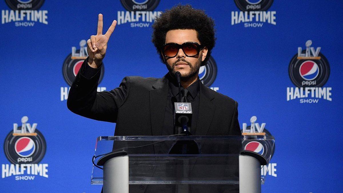 The Weekend será el artista que actúe en el descanso de la Super Bowl 2021.