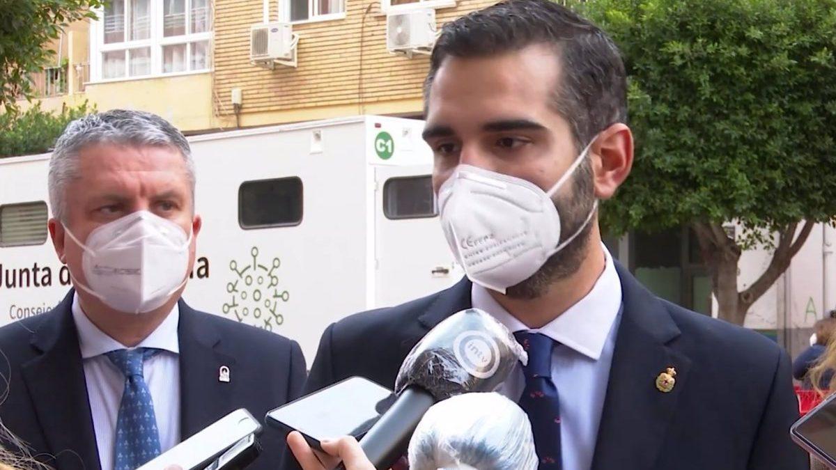 Alcalde de Almería en declaraciones a los medios.