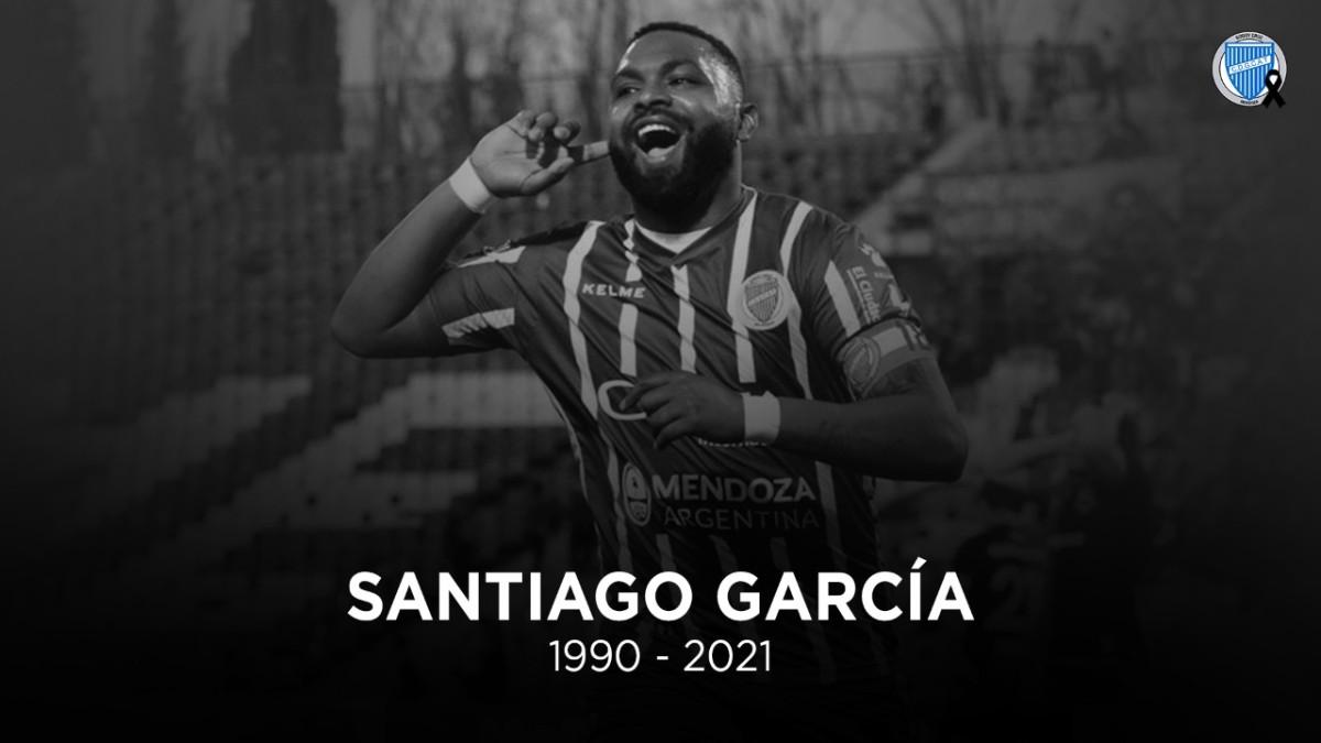 Santiago 'Morro' García fallece a los 30 años de edad. (@ClubGodoyCruz)