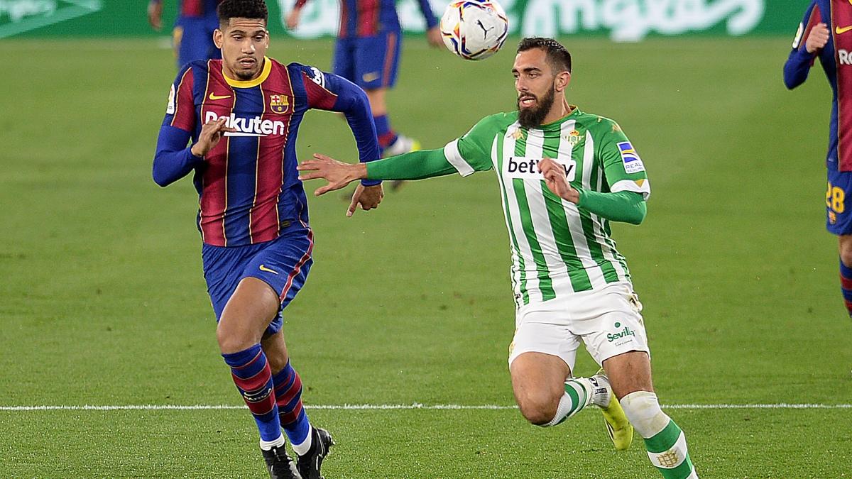 Betis -Barcelona: partido de Liga Santander en directo. (AFP)