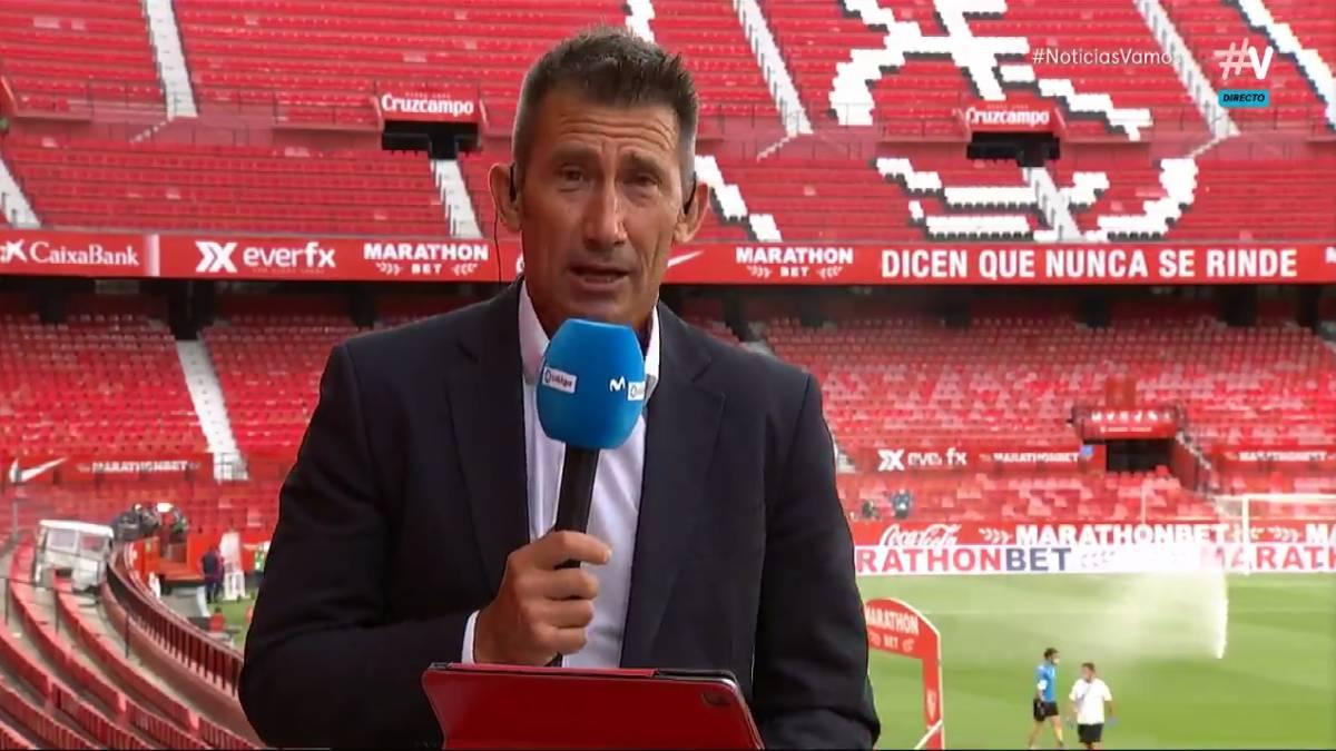 Carlos Martínez, narrador de fútbol.