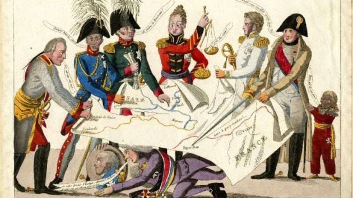 Congreso de Viene celebrado entre 1814 y 1815