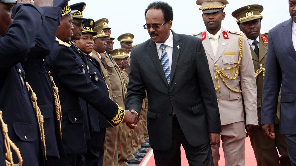 El presidente de Somalia, Mohamed Abdullahi Mohamed 'Farmajo'.
