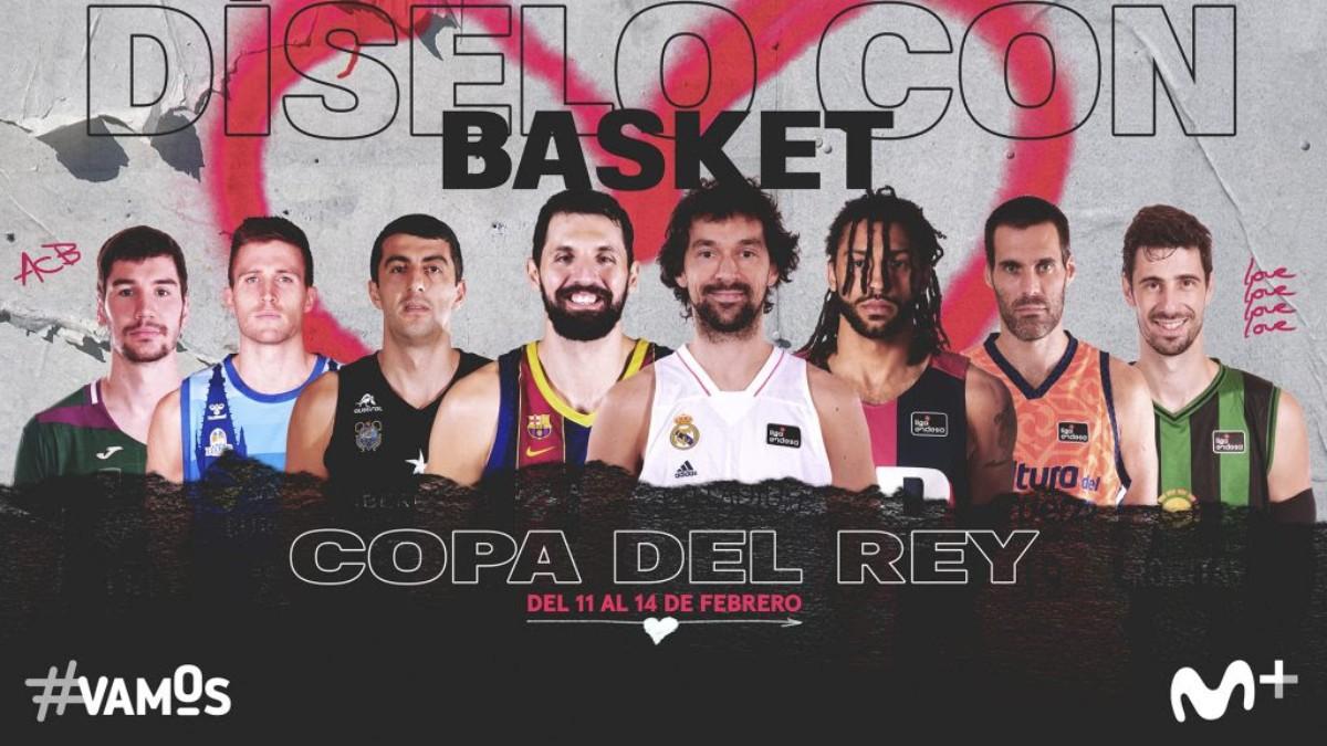 La Copa del Rey de baloncesto se podrá ver en Movistar+ Lite. (Foto: Movistar+)
