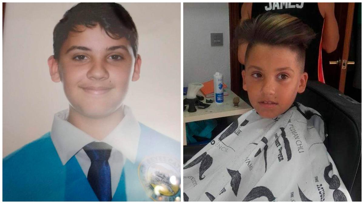 Imágenes del niño de 13 años desaparecido en Puerto Real.