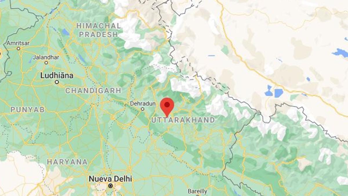 La riada provocada por el colapso de un glaciar se sitúa en el estado indio de Uttarajand.