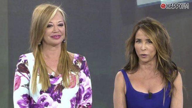 María Patiño y Belén Esteban