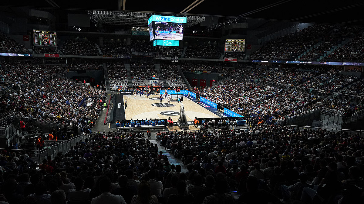 El Wizink Center de Madrid albergará la Copa del Rey de baloncesto 2021. (ACB Photo)