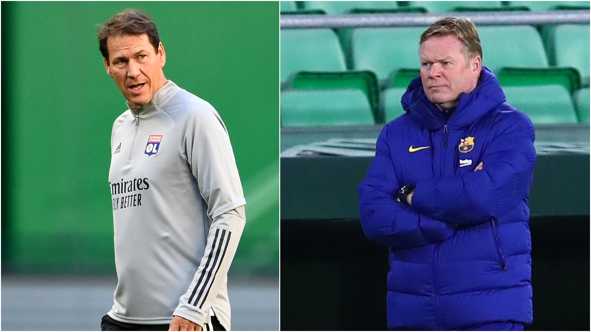 Rudi García y Ronald Koeman (Getty)