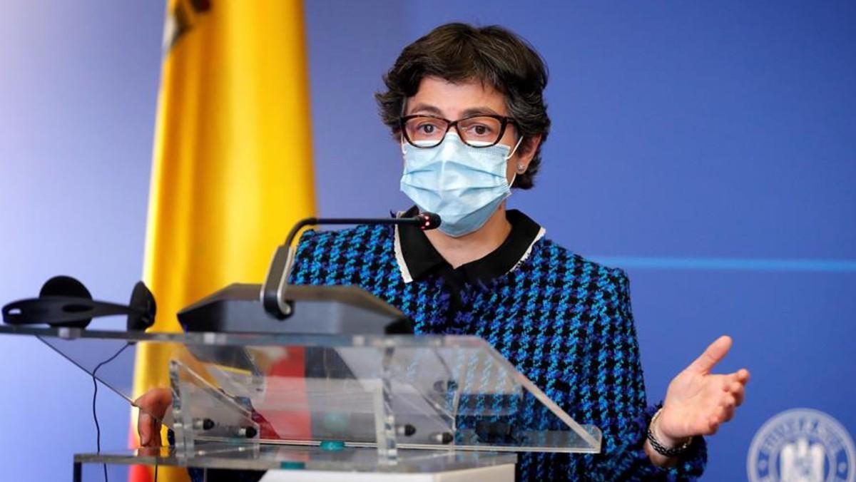 La ministra de Exteriores de España, Arancha González Laya. Foto: EFE