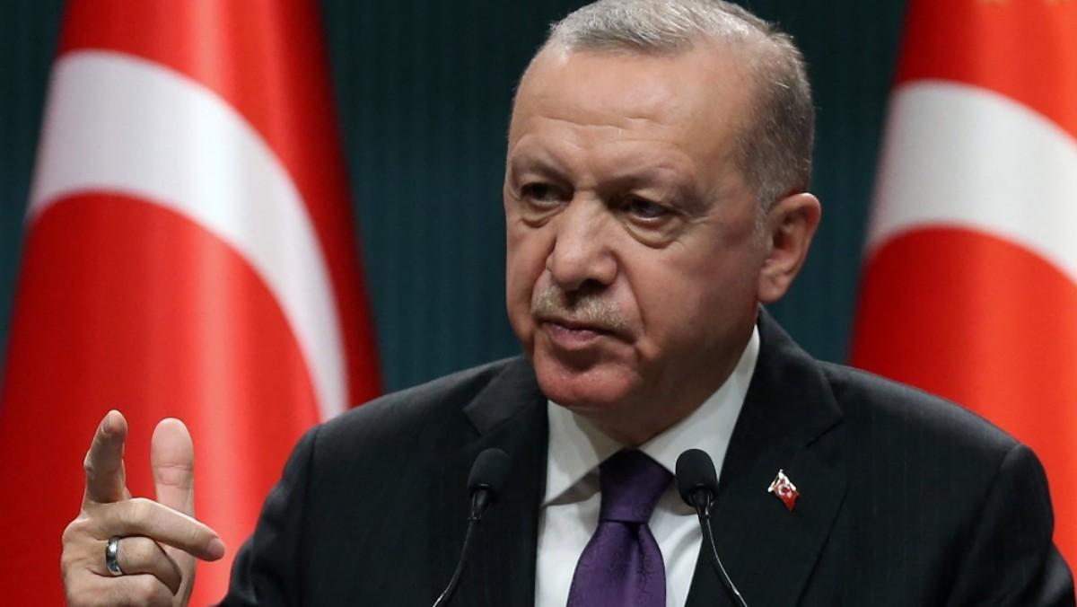 Recep Tayyip Erdogan, presidente de Turquía. Foto: AFP