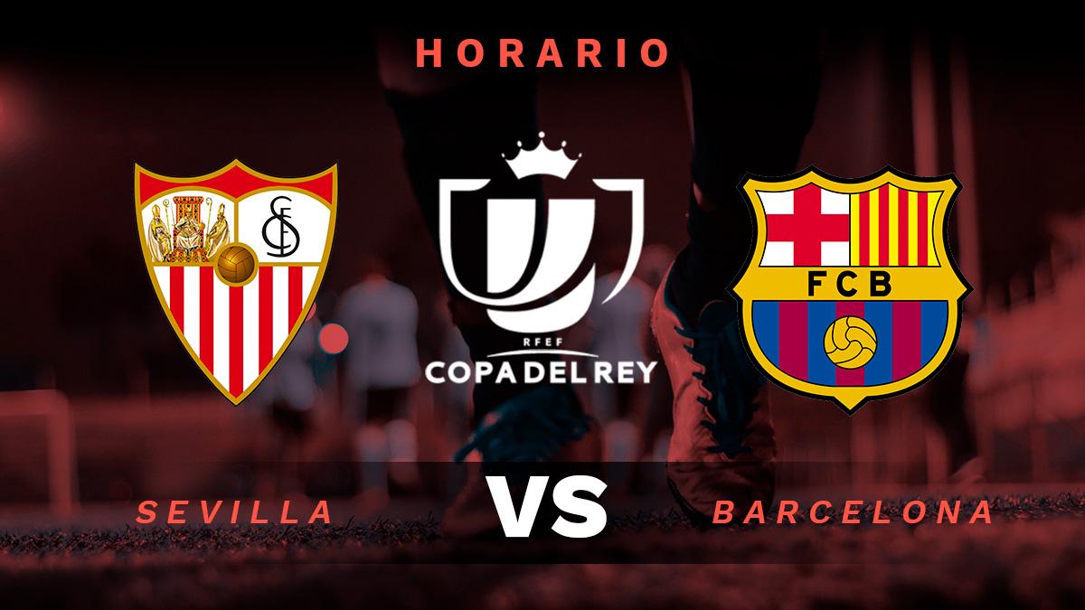 Copa del Rey 2020-2021: Sevilla – Barcelona | Horario del partido de las semifinales de Copa del Rey.