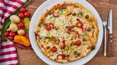 3 recetas de pizzas saludables con bases de verduras