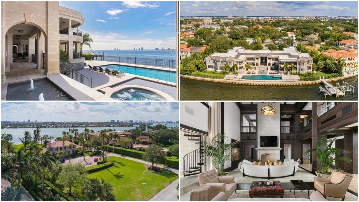 La mansión de Tom Brady en Miami (realtor.com)