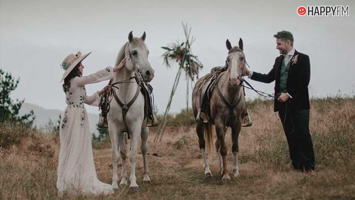 La original boda campestre de Isma, de El conquistador del fin del mundo