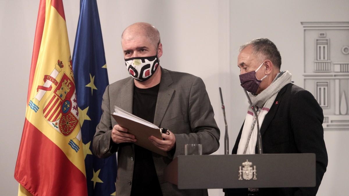 Pepe Álvarez y Unai Sordo
