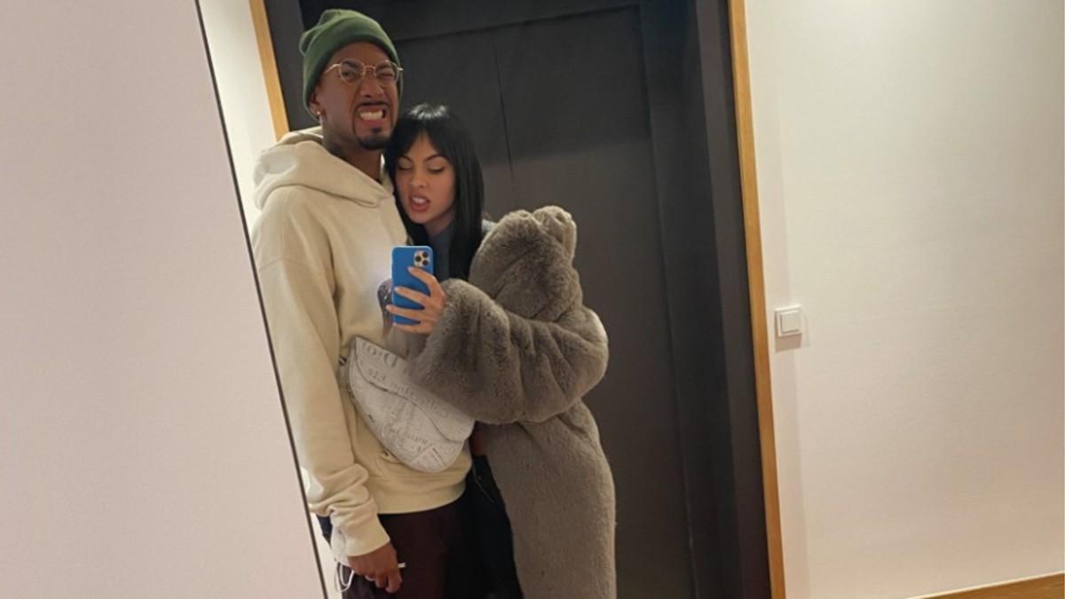 Jérome Boateng, junto a su ex novia Katia. (Facebook)