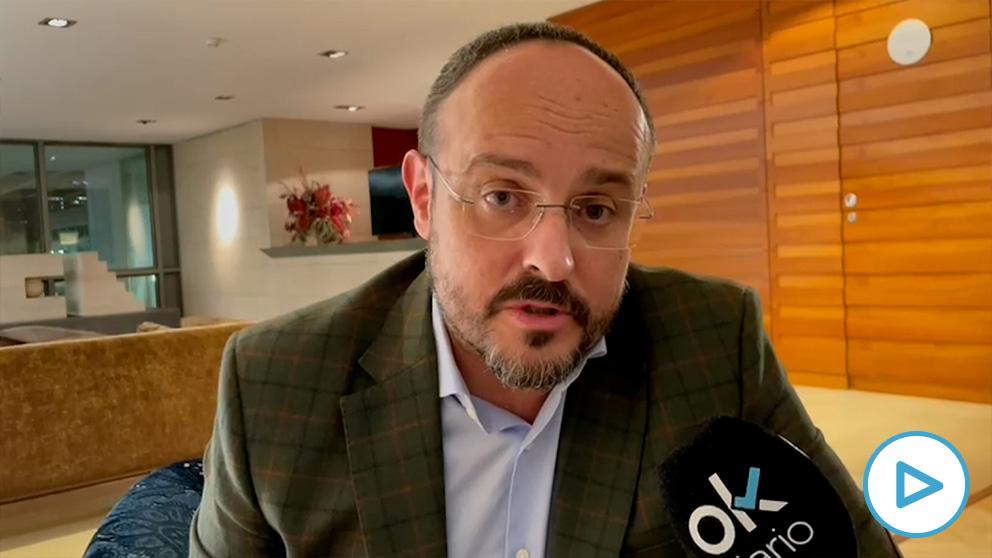 Alejandro Fernández es el candidato del PP de Cataluña.