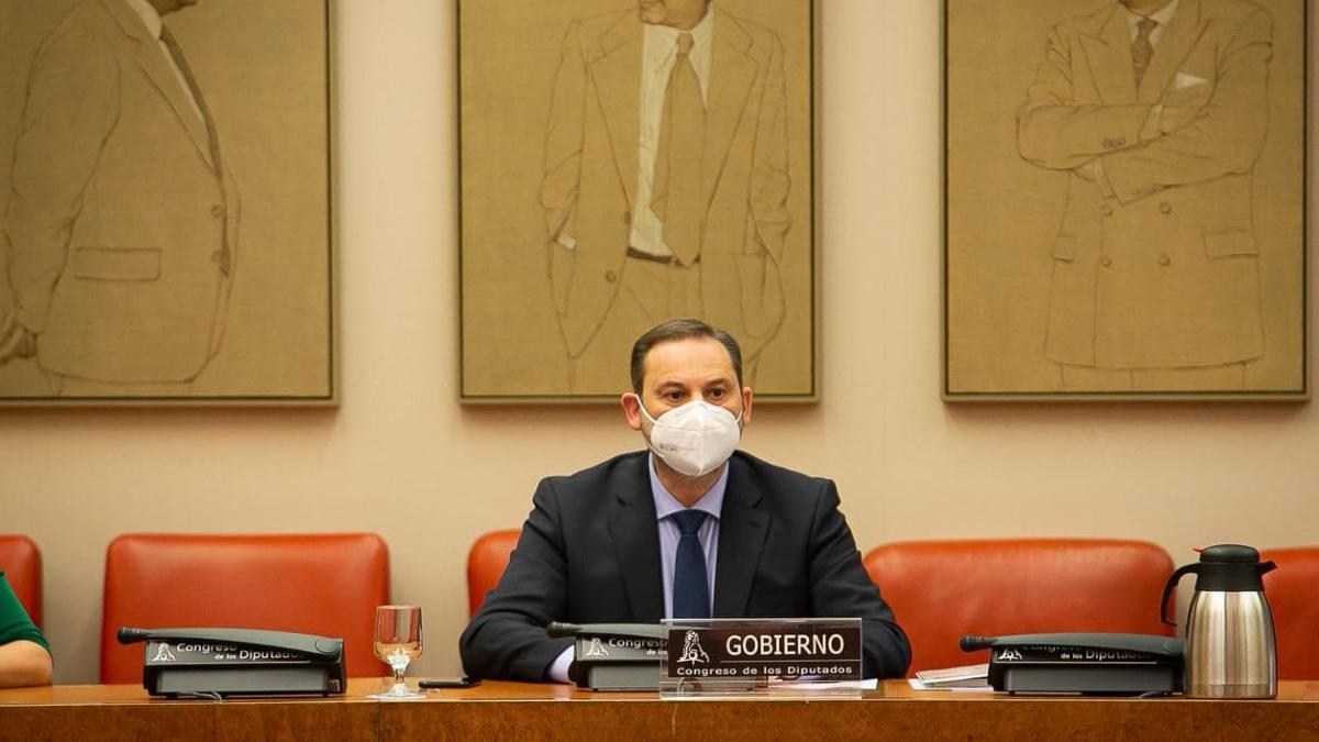 José Luis Ábalos, ministro de Transportes