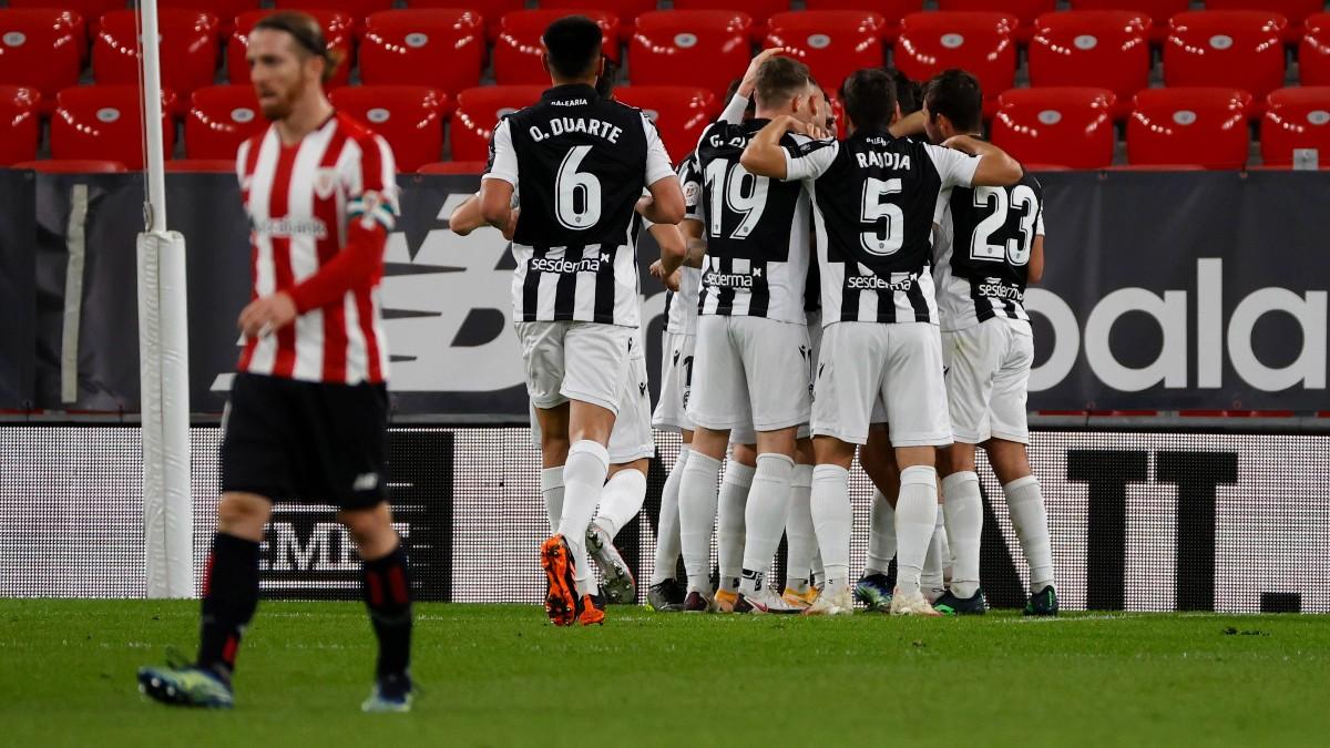 Levante y Athletic Club empataron en San Mamés. (EFE)